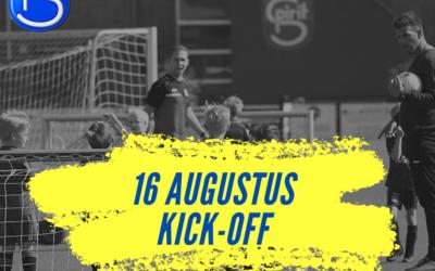 Kick-Off Spirit jeugdtrainingen en coaching 16 augustus