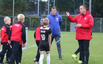 KNVB cursus juniorentrainer op het Spirit complex