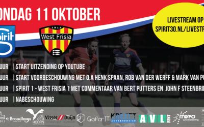 Livestream Strekerderby Spirit – West Frisia