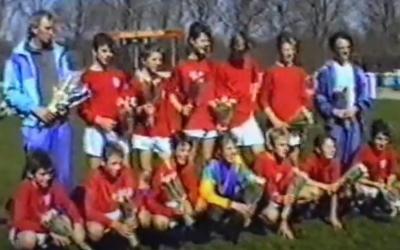 Kampioenswedstrijd Spirit C1 uit 1990