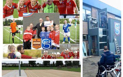 Spirit jeugd voetbalt voor jongeren met een beperking
